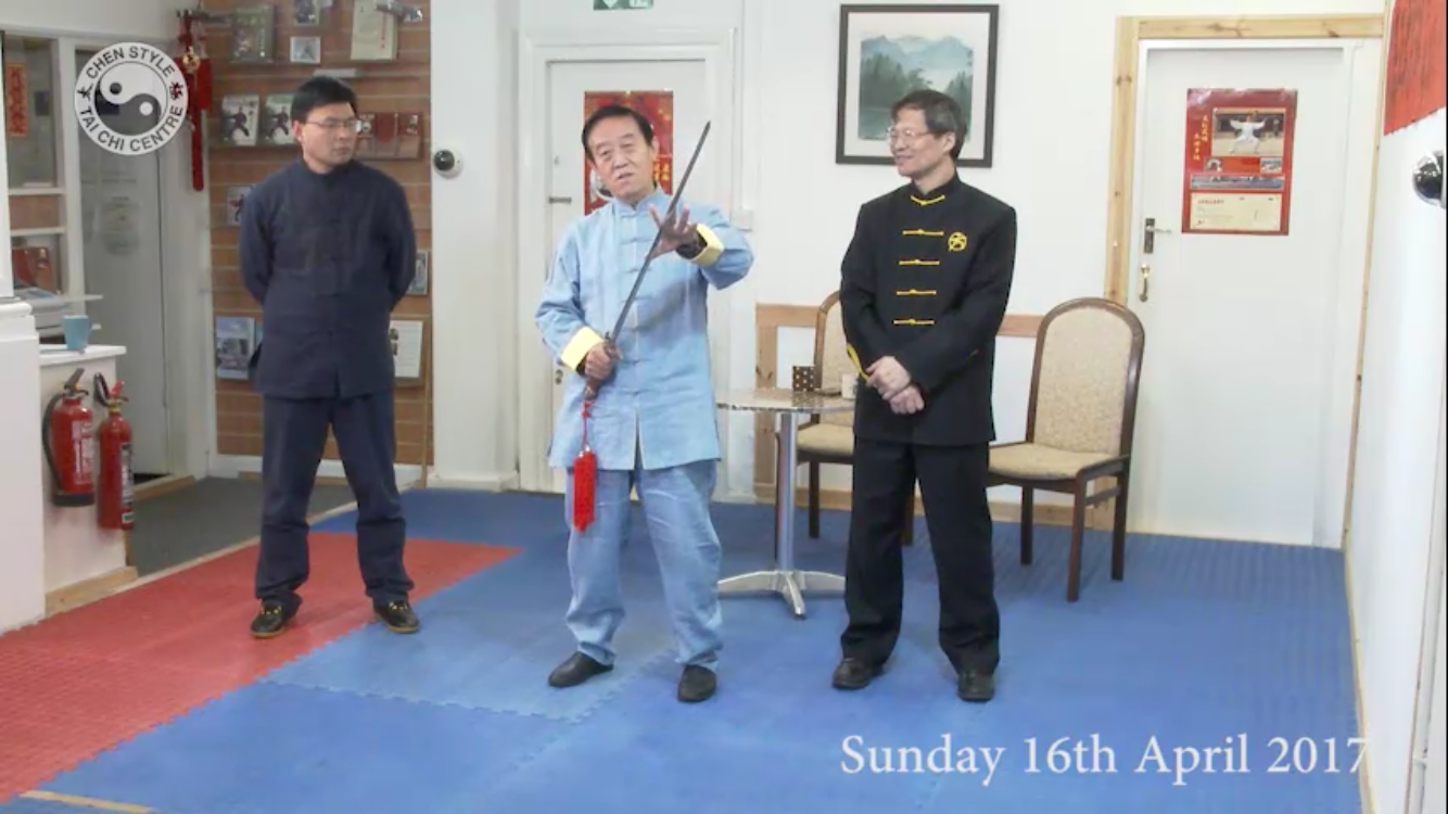<br /> Tai Chi Sword<br /> ;<br /> Back View Demonstration</p> <p>;<br /> Tai Chi 8 Form part 1</p> <p>;<br /> Tai Chi 8 Form part 2<br /> ;</p> <p>Tai Chi application</p> <p>;<br /> 83 Form first 5 movements</p> <p>;<br /> Push Hands</p> <p>;<br />