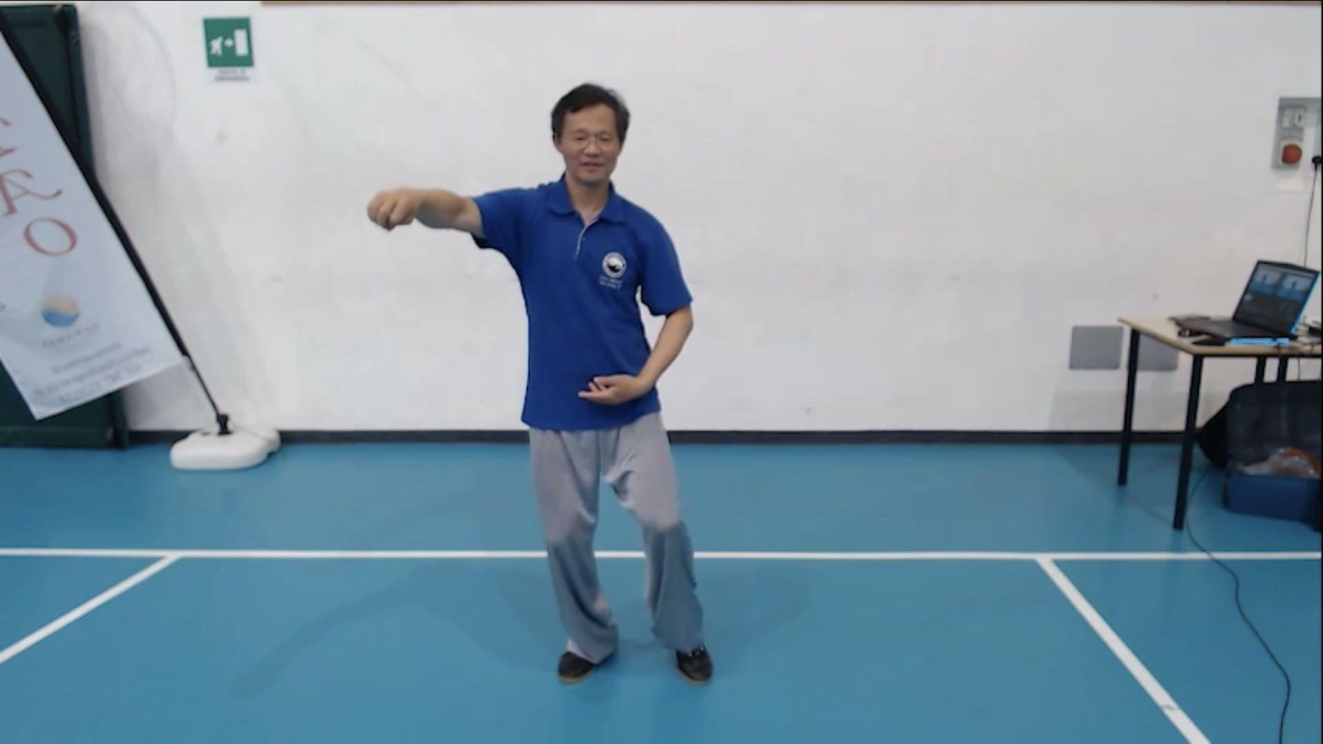 Parte 1;Parte 2;Applicazioni;Laojia seconda sequenza parte 1;Laojia seconda sequenza parte 2;Tui Shou di base;